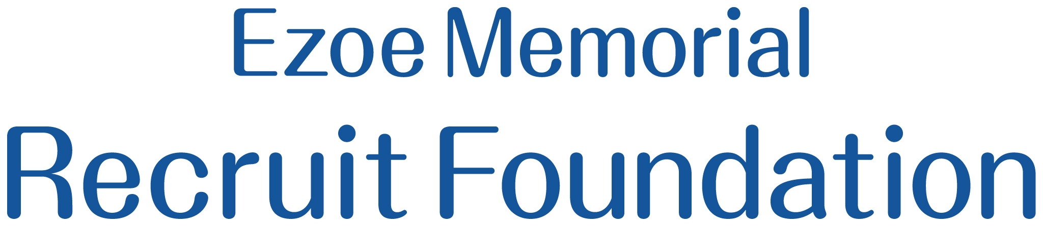 Ezoe Memorial Recruit Foundation