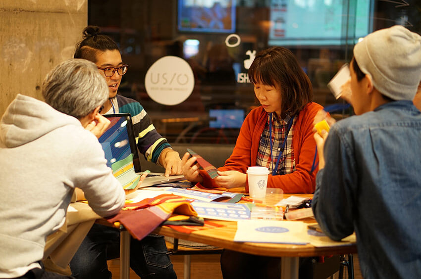 Pictures from a workshop in Shibuya