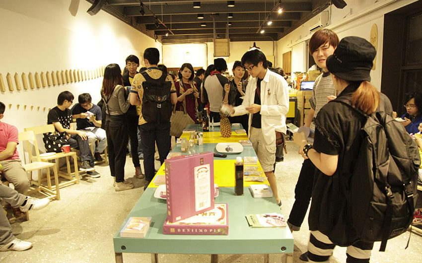 Pictures from an event in Taiwan